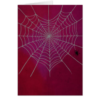 Tarjeta Corazón de Spiderweb