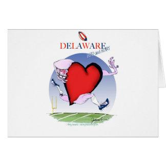 Tarjeta corazón principal de Delaware, fernandes tony