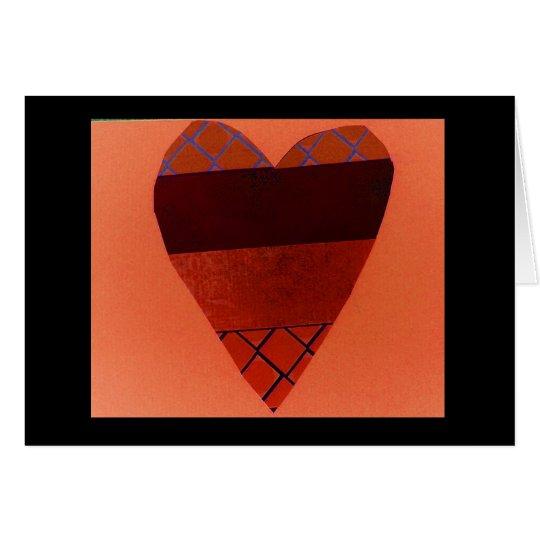 Tarjeta Corazón salvaje