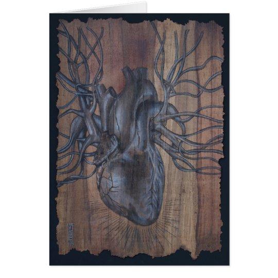 Tarjeta Corazón sangrante