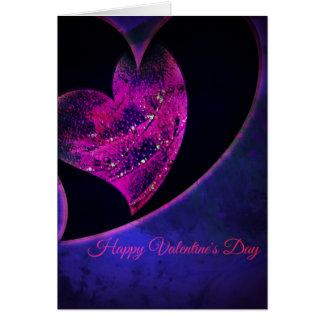 Tarjeta Corazones del el día de San Valentín