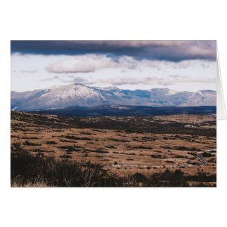 Tarjeta Cordillera