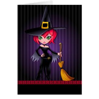 Tarjeta Cordón rayado Witchin