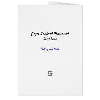 Tarjeta Costa del nacional del puesto de observación del