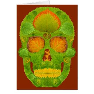 Tarjeta Cráneo 10 de la hoja de Aspen