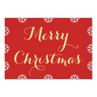 Tarjeta Cree las Felices Navidad personalizadas día de