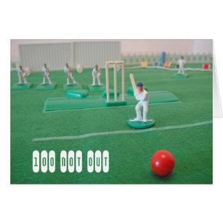 Tarjeta Cricket el 100o cumpleaños