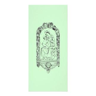 Tarjeta cristiana del estante de los símbolos tarjeta publicitaria personalizada