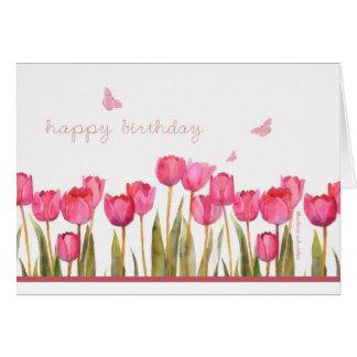 tarjeta cristiana del feliz cumpleaños, 6:24 de