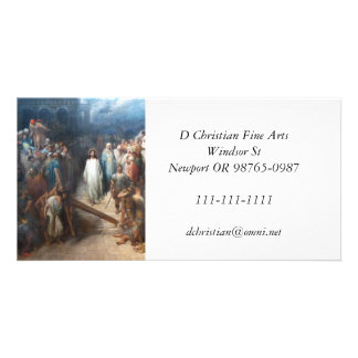 Tarjeta Cristo que deja Praetorium