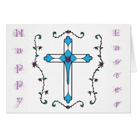 Tarjeta Cruz de Pascua