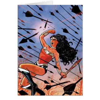 Tarjeta Cubierta #1 de la Mujer Maravilla