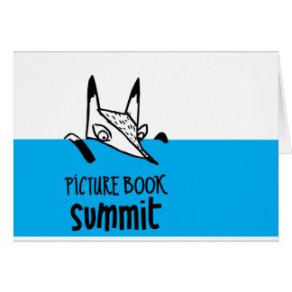 Tarjeta Cumbre Notecards del libro ilustrado
