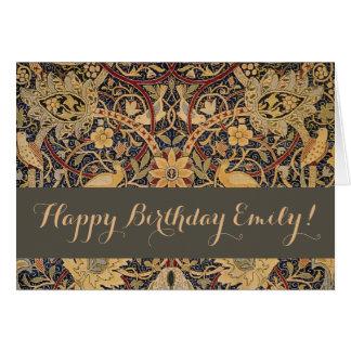 Tarjeta Cumpleaños de encargo de William Morris