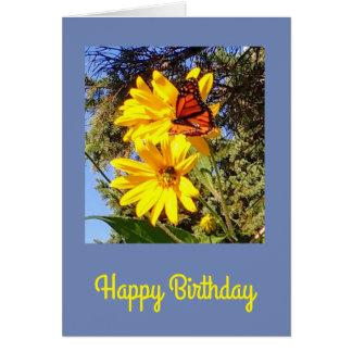 Tarjeta Cumpleaños de la mariposa