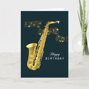 Invitaciones Y Papelería Notas Musicales Oro Zazzle Es