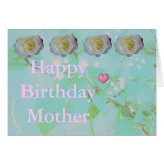 Tarjeta Cumpleaños de las madres