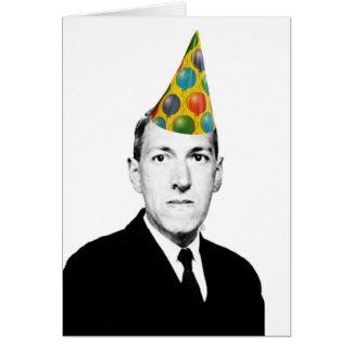 Tarjeta Cumpleaños de Lovecraft