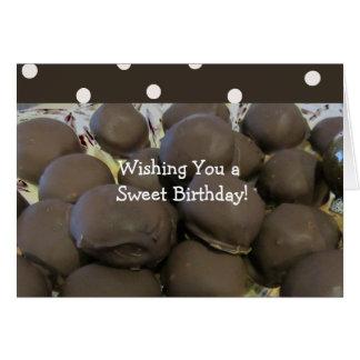 Tarjeta Cumpleaños decadente de los chocolates