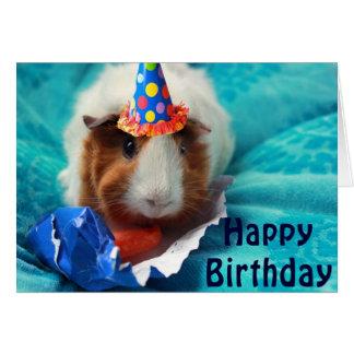 Tarjeta Cumpleaños del cerdo