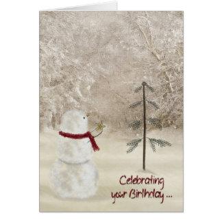 Tarjeta Cumpleaños del navidad