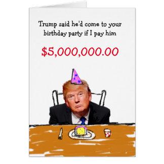 Tarjeta Cumpleaños del triunfo $5.000.000