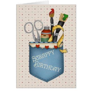 Tarjeta Cumpleaños escaso