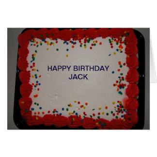 Tarjeta Cumpleaños, Jack