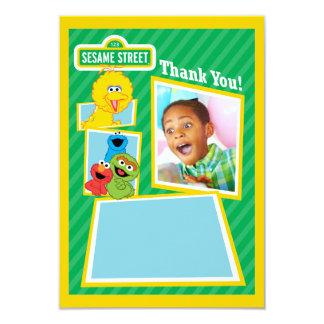 Tarjeta Cumpleaños personalizado de los Pals del Sesame