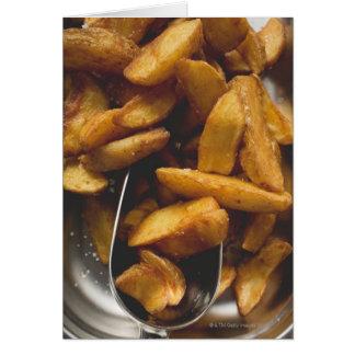 Tarjeta Cuñas de la patata con la sal (detalle)