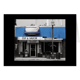 Tarjeta Cup&Saucer-Monterey Tennessee