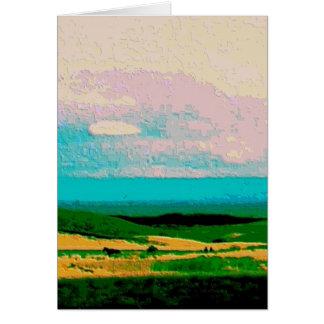 tarjeta curativa de los pensamientos