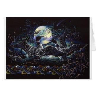Tarjeta Danza del bribón del claro de luna