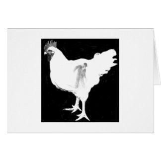 Tarjeta Danza del pollo