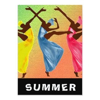 Tarjeta Danza del verano