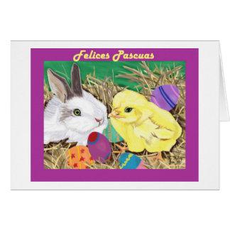 Tarjeta de Amigos de Pascua (tarjeta de los amigos