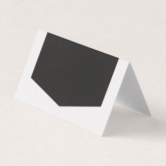 Tarjeta De Asiento Añada su propia luz del texto y gris oscuro