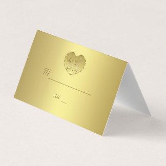 Tarjeta De Asiento Aniversario de boda del oro 50.o todavía HACEMOS