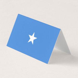 Tarjeta De Asiento Bandera de Somalia