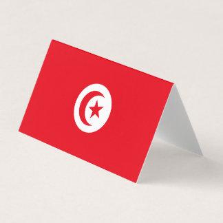 Tarjeta De Asiento Bandera de Túnez