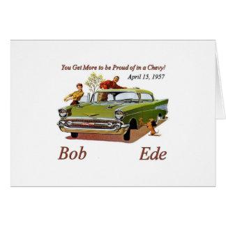 Tarjeta de Bob Ede Brithday