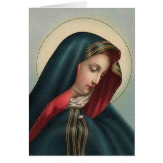 Tarjeta de condolencia católica 0020 w/verse