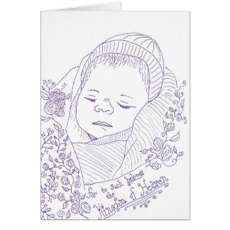 Tarjeta de condolencia de la pérdida del embarazo