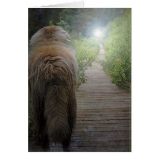 Tarjeta de condolencia de Leonberger