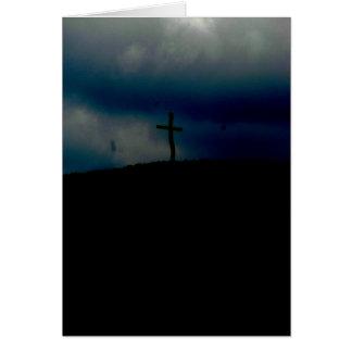 Tarjeta de condolencia religiosa