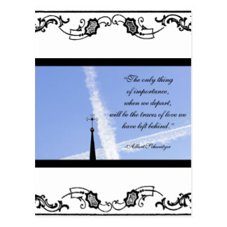 Tarjeta de condolencia postal