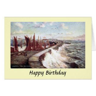 Tarjeta de cumpleaños - Arbroath, Escocia
