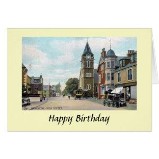 Tarjeta de cumpleaños - Banchory, Aberdeenshire