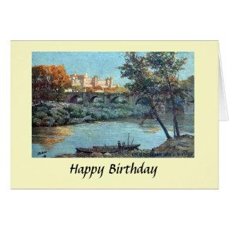 Tarjeta de cumpleaños - Carcasona, Aude, Francia