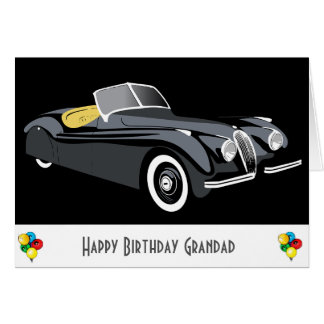 Tarjeta de cumpleaños clásica del Grandad del